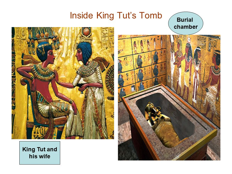 Inside King Tut's Tomb Burial chamber King Tut and his wife
