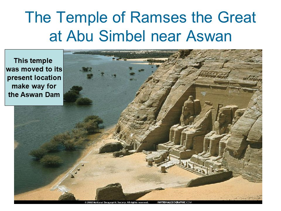 The Temple of Ramses the Great at Abu Simbel near Aswan