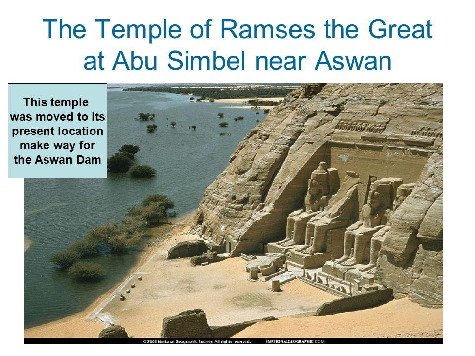 The Temple of Ramses the Great at Abu Simbel near Aswan