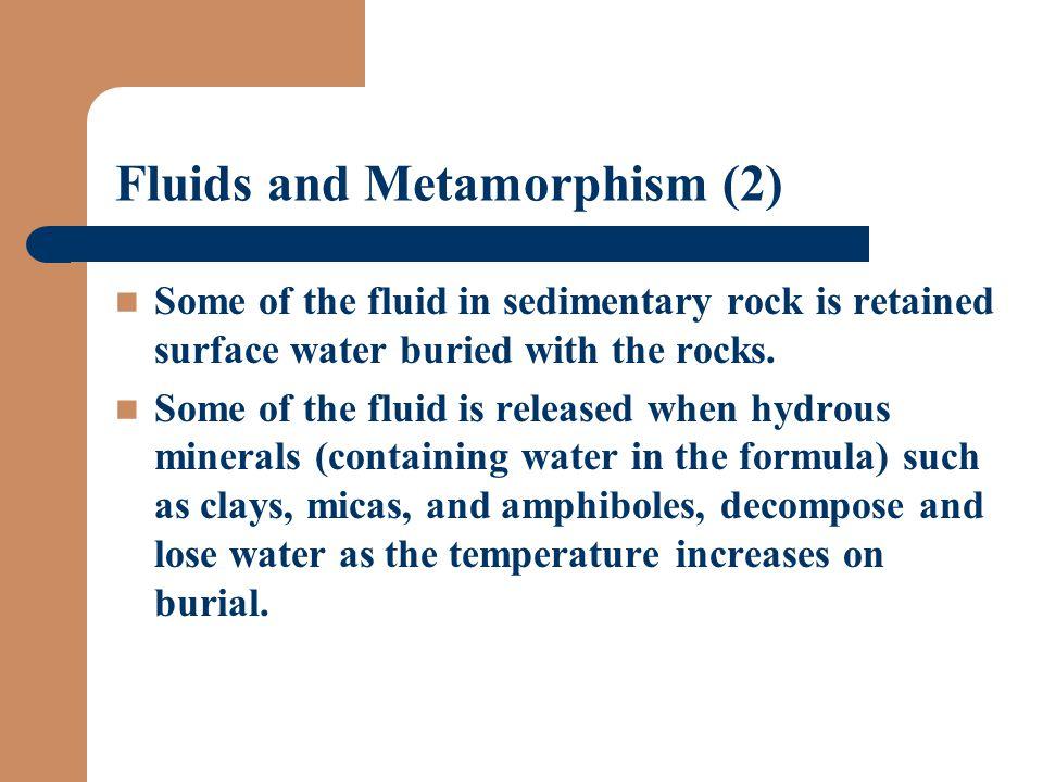Fluids and Metamorphism (2)