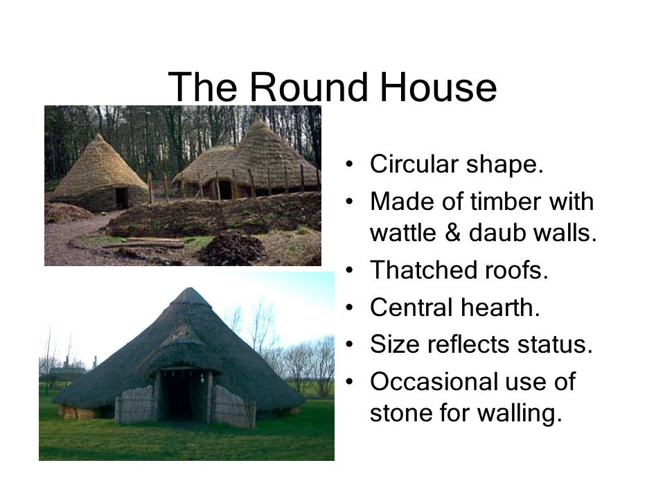 The Round House Circular shape.