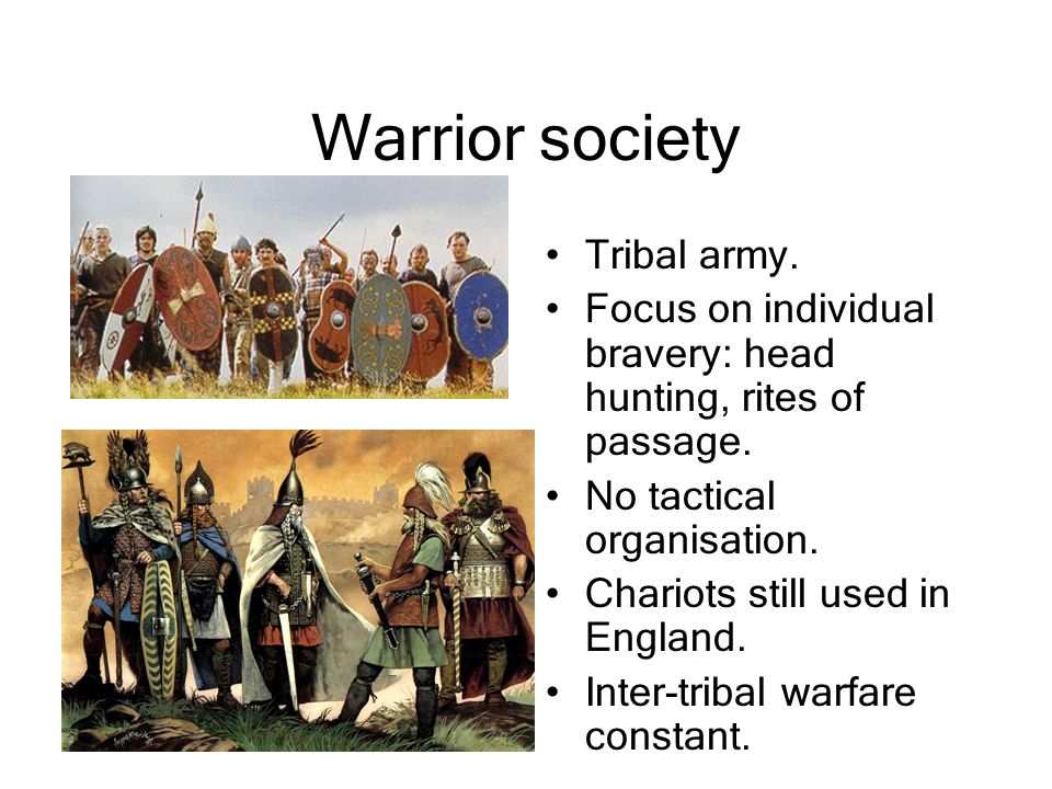 Warrior society Tribal army.