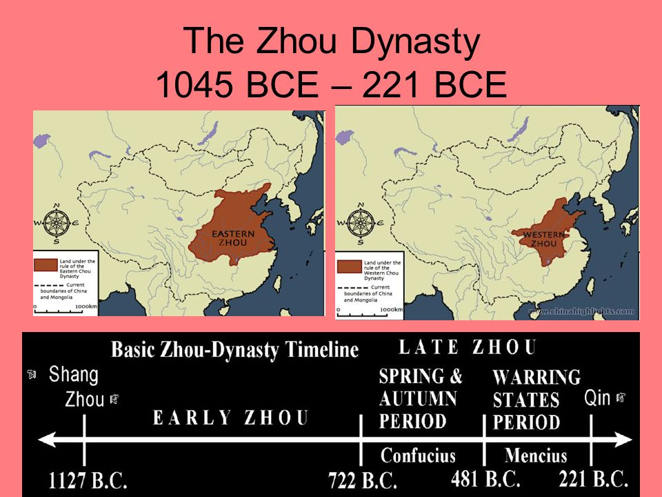 The Zhou Dynasty 1045 BCE – 221 BCE