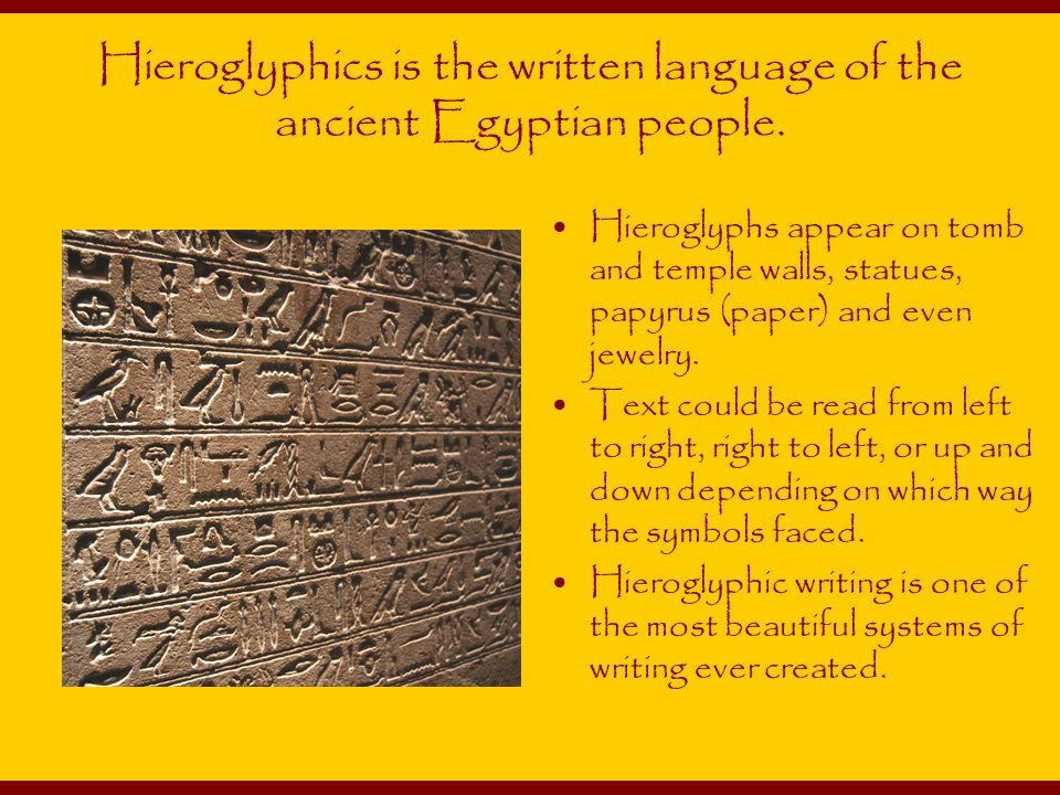 Egyptian Language: Easy Lessons in Egyptian Hieroglyphics ...