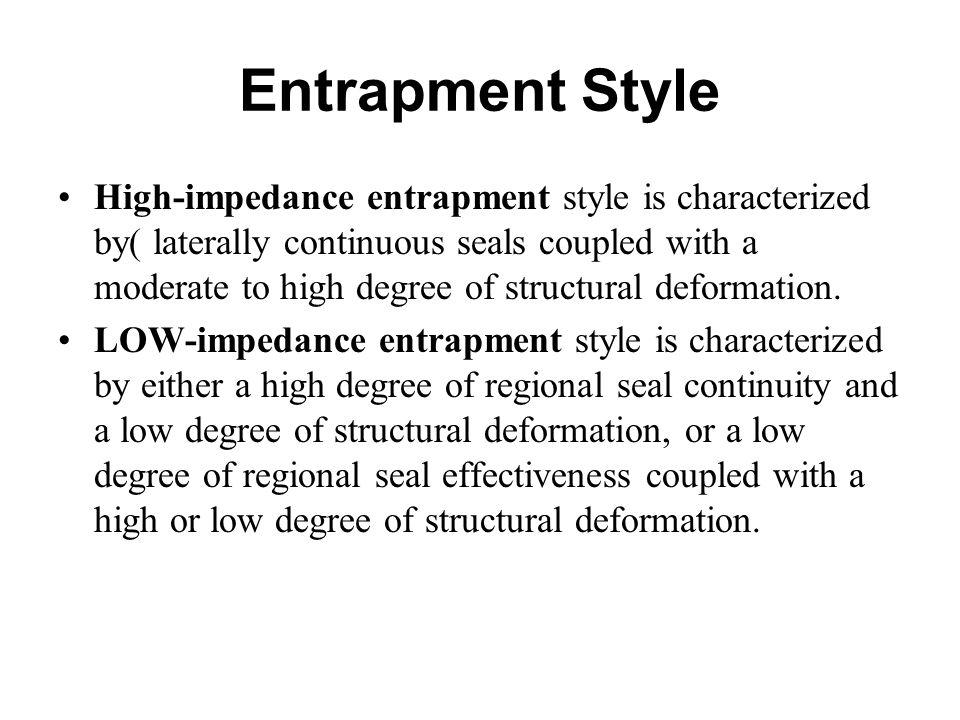 Entrapment Style