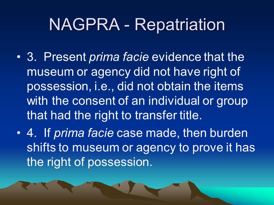 NAGPRA - Repatriation