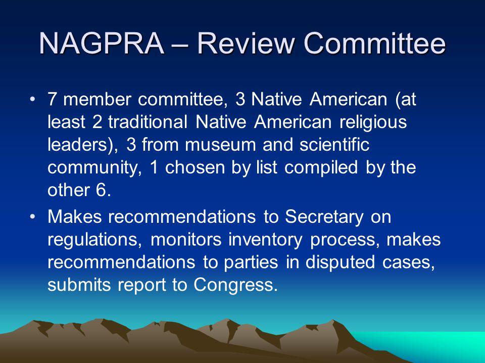 NAGPRA – Review Committee