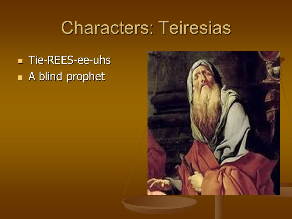Characters: Teiresias
