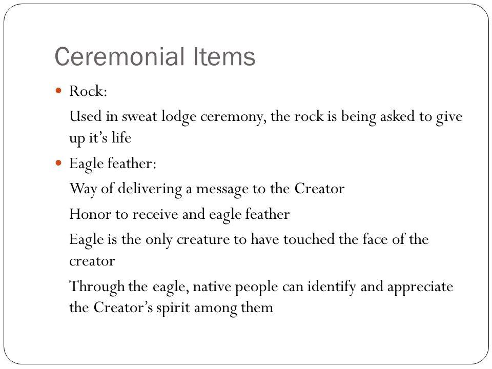 Ceremonial Items Rock: