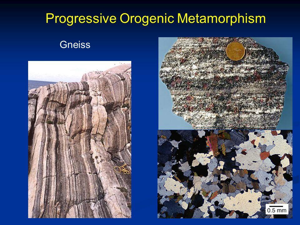 Progressive Orogenic Metamorphism