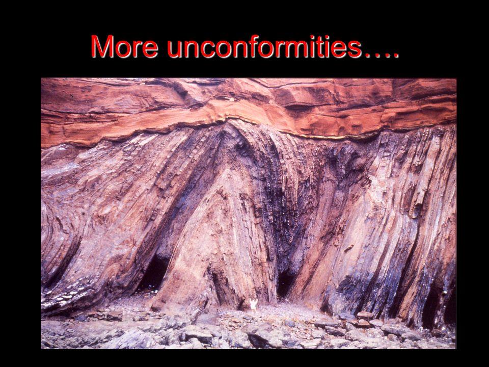 More unconformities….
