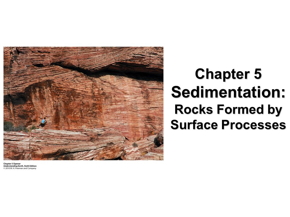 Rocks Formed by Surface Processes
