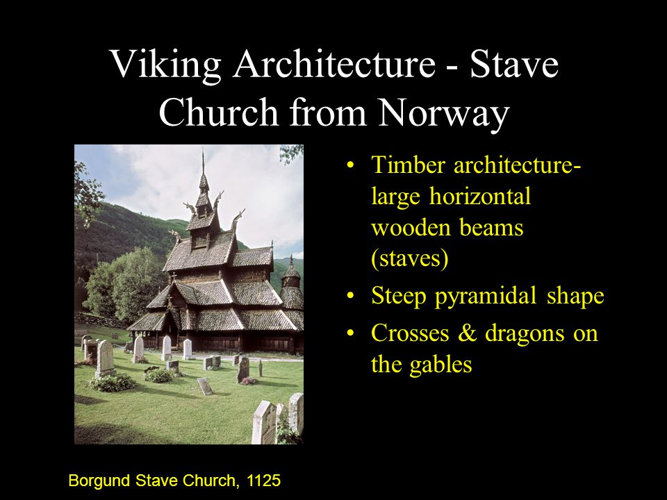 Viking Architecture - Stave Church from Norway