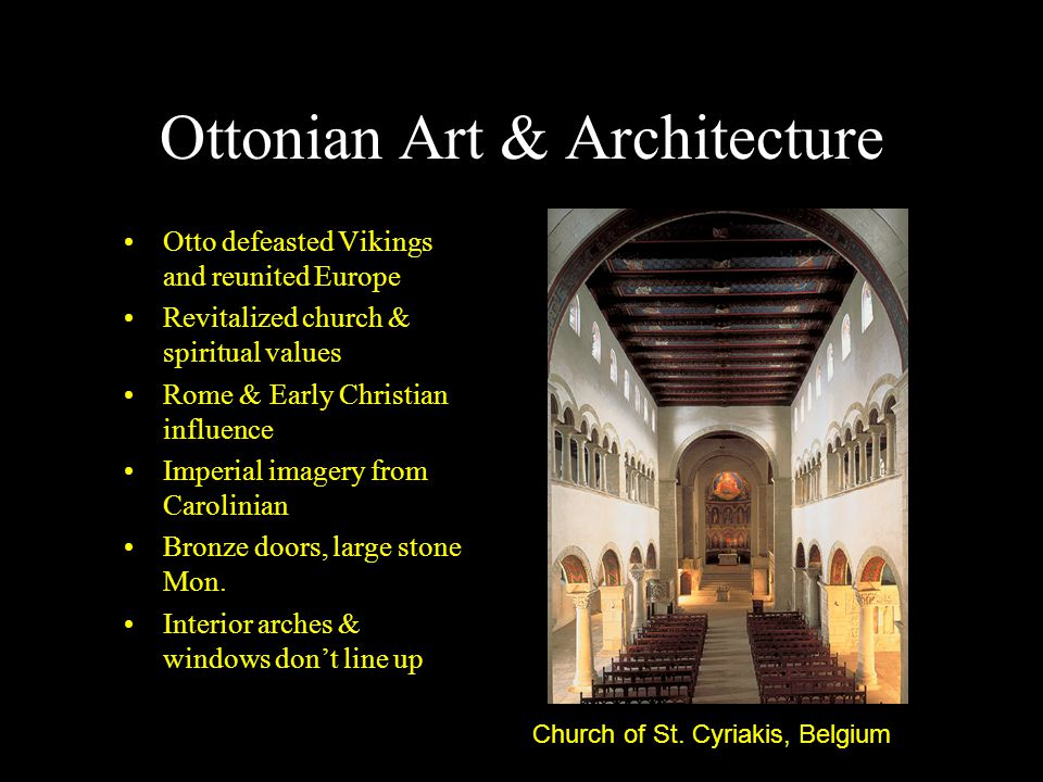 Ottonian Art & Architecture