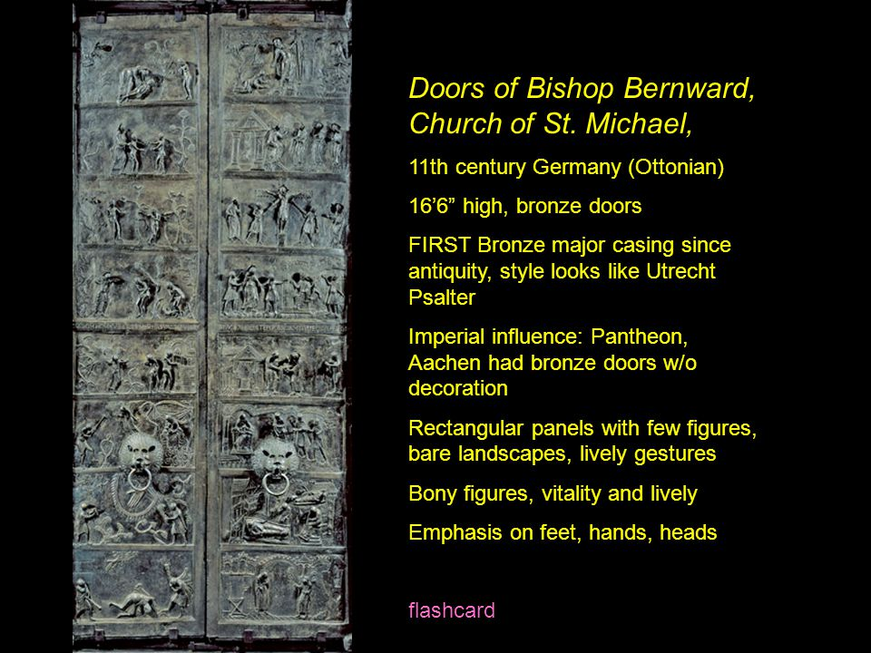 Doors of Bishop Bernward, Church of St. Michael,