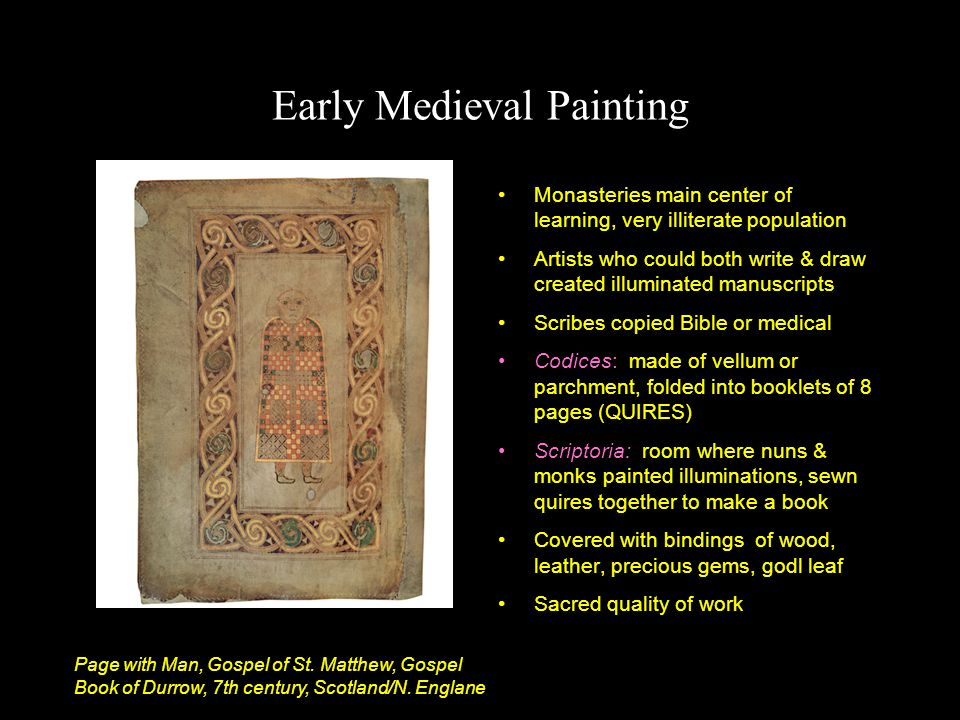 Early Medieval Painting