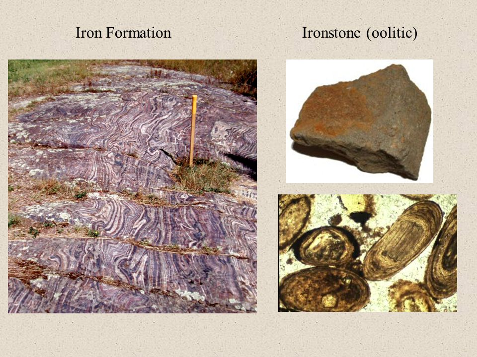 Iron Formation Ironstone (oolitic)