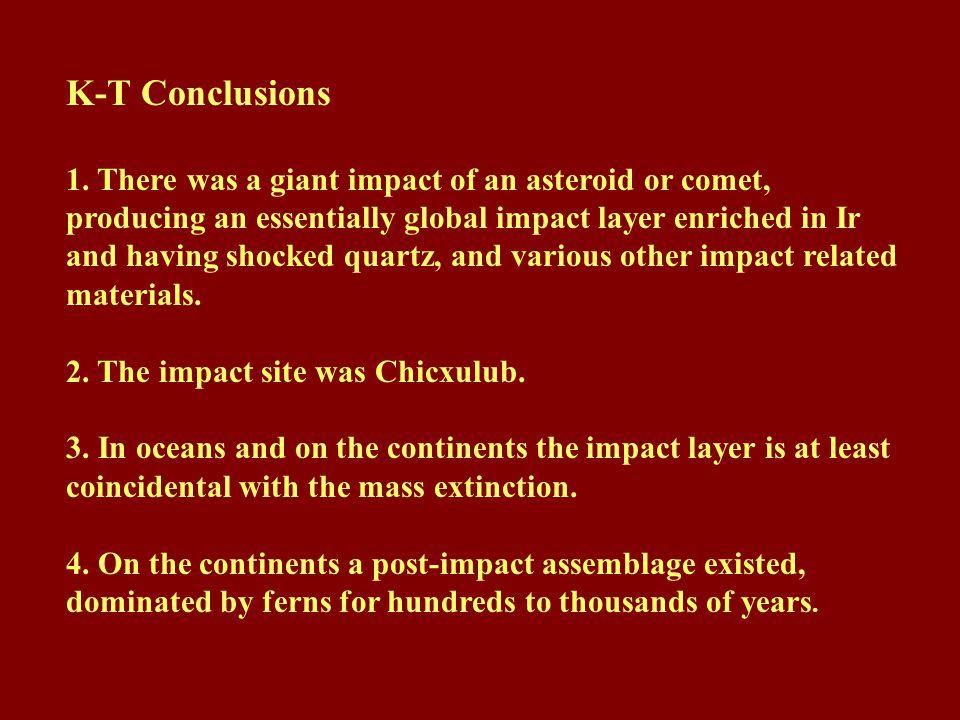 K-T Conclusions