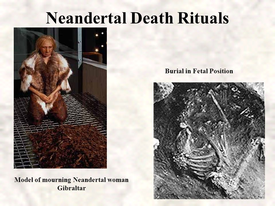 Neandertal Death Rituals
