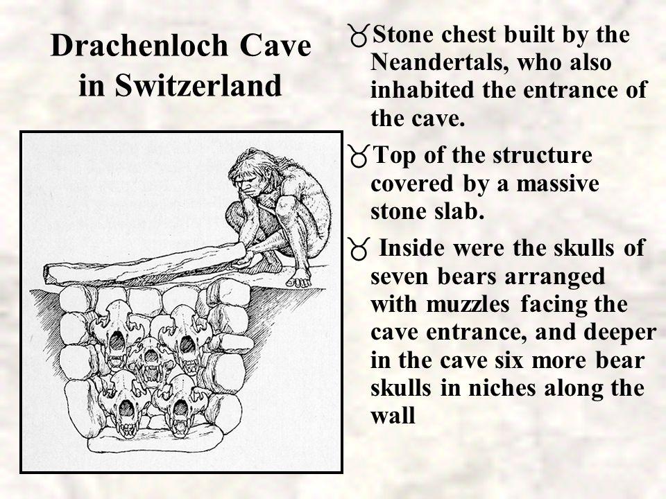 Drachenloch Cave in Switzerland