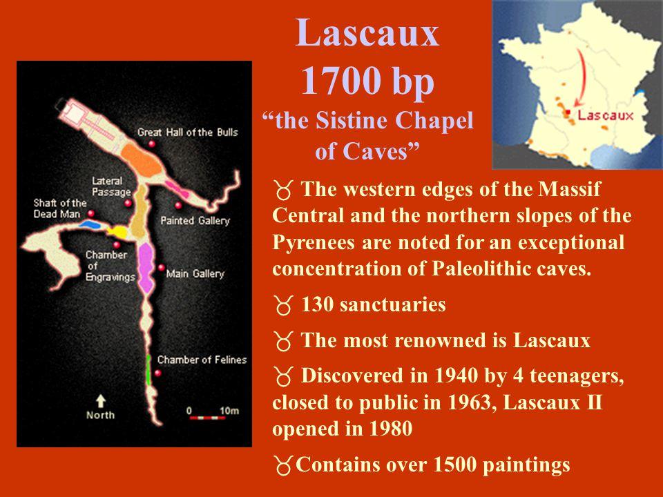 Lascaux 1700 bp the Sistine Chapel of Caves