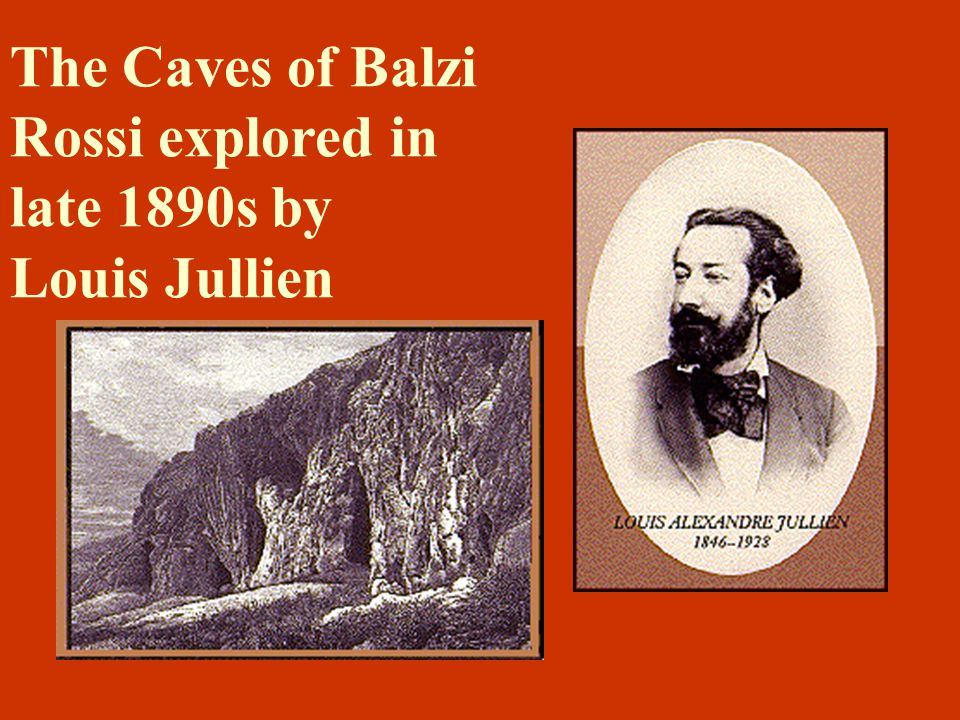 The Caves of Balzi Rossi explored in late 1890s by Louis Jullien