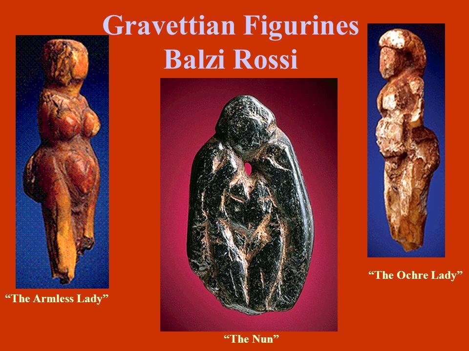 Gravettian Figurines Balzi Rossi