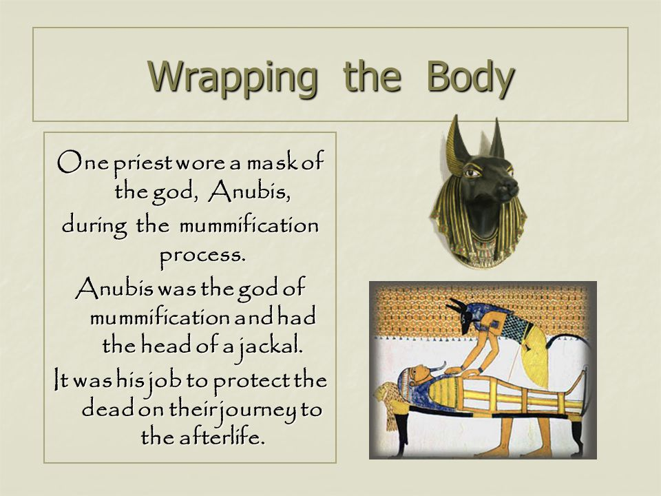 Wrapping the Body