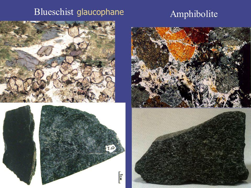 Blueschist glaucophane