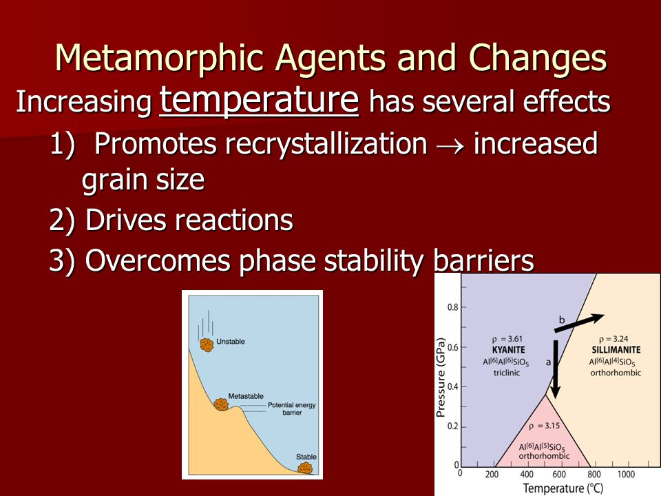 Metamorphic Agents and Changes