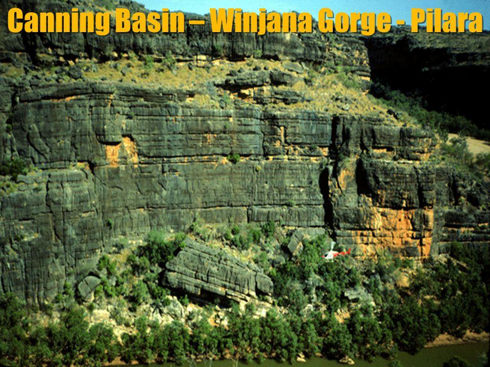 Canning Basin – Winjana Gorge - Pilara