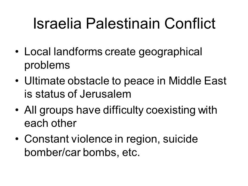 Israelia Palestinain Conflict