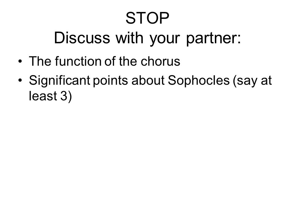 STOP Discuss with your partner: