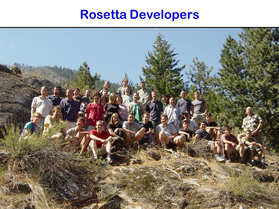 Rosetta Developers