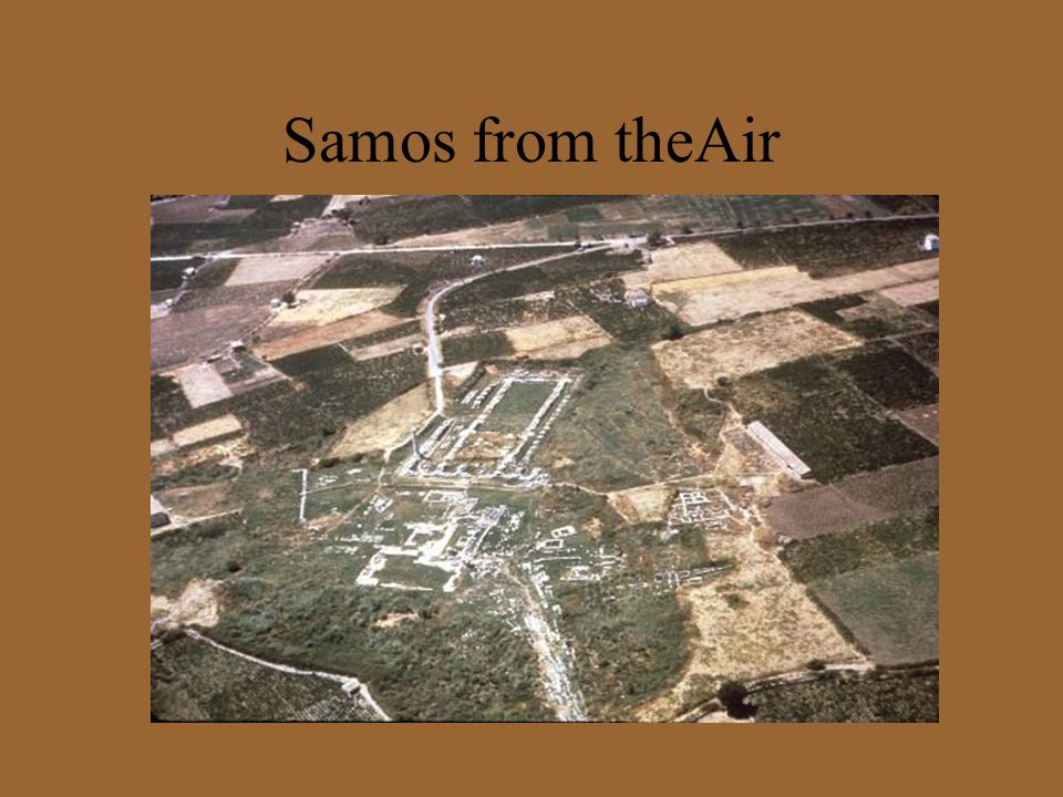 Samos from theAir