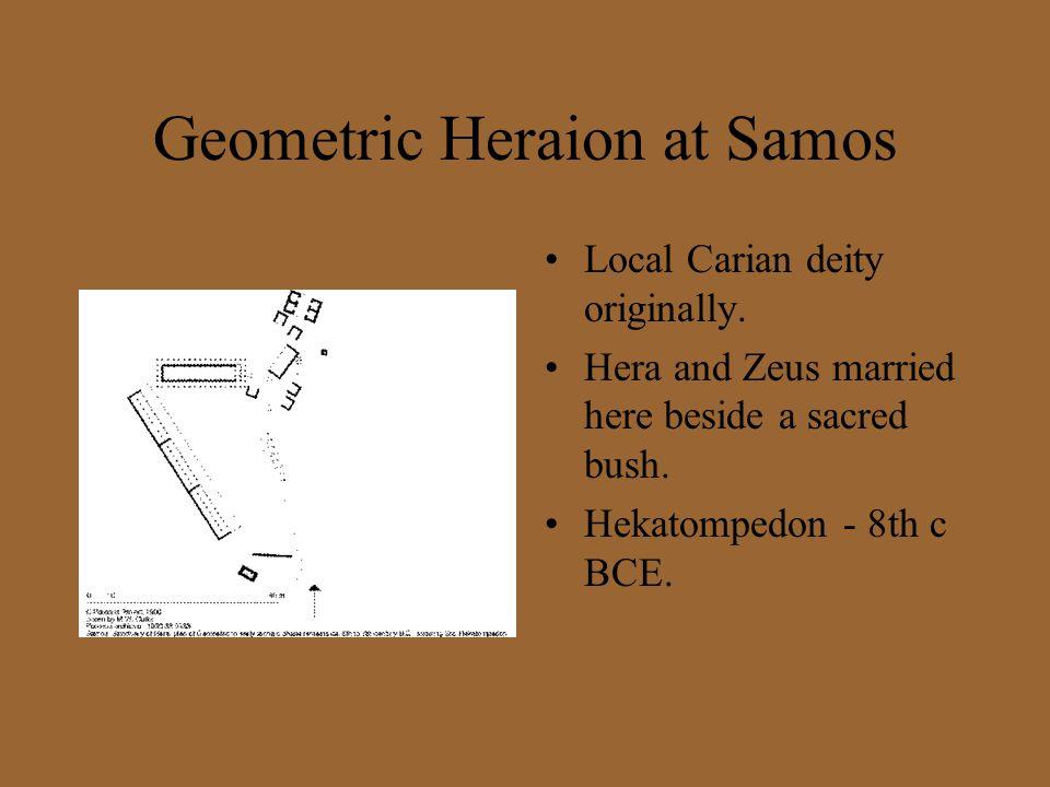 Geometric Heraion at Samos