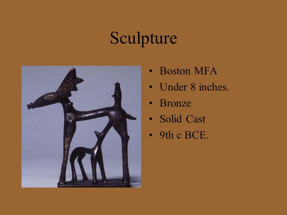Sculpture Boston MFA Under 8 inches. Bronze Solid Cast 9th c BCE.