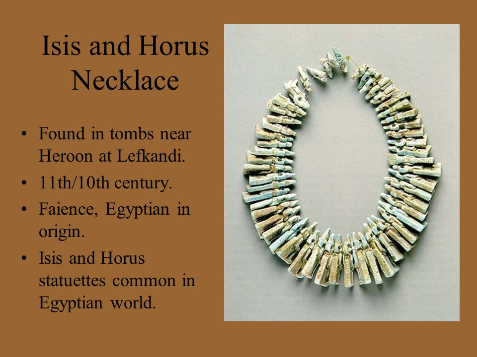 Isis and Horus Necklace