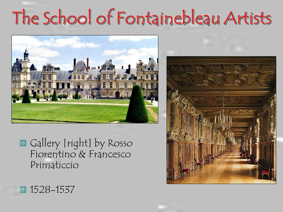 The School of Fontainebleau Artists