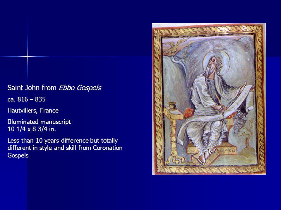 Saint John from Ebbo Gospels