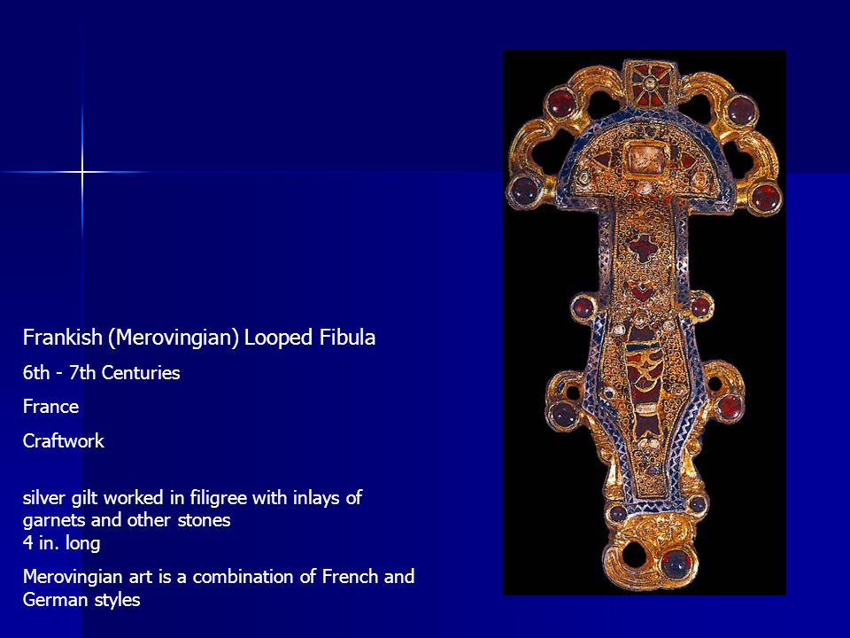 Frankish (Merovingian) Looped Fibula