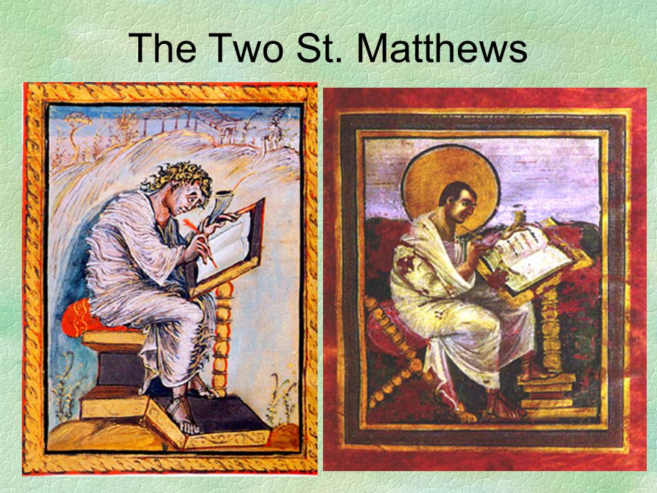 The Two St. Matthews