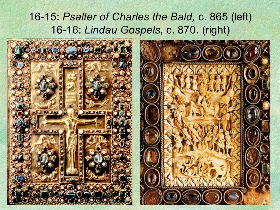 16-15: Psalter of Charles the Bald, c