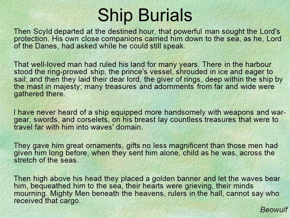 Ship Burials
