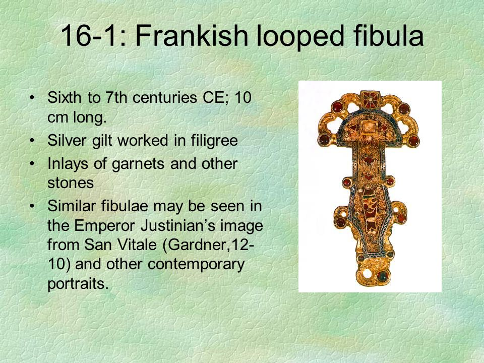 16-1: Frankish looped fibula