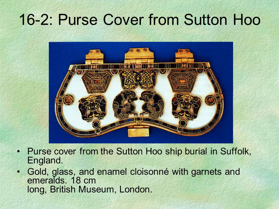 16-2: Purse Cover from Sutton Hoo