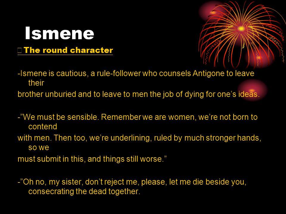 Ismene ※The round character