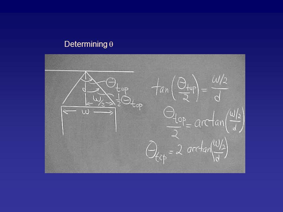 Determining 
