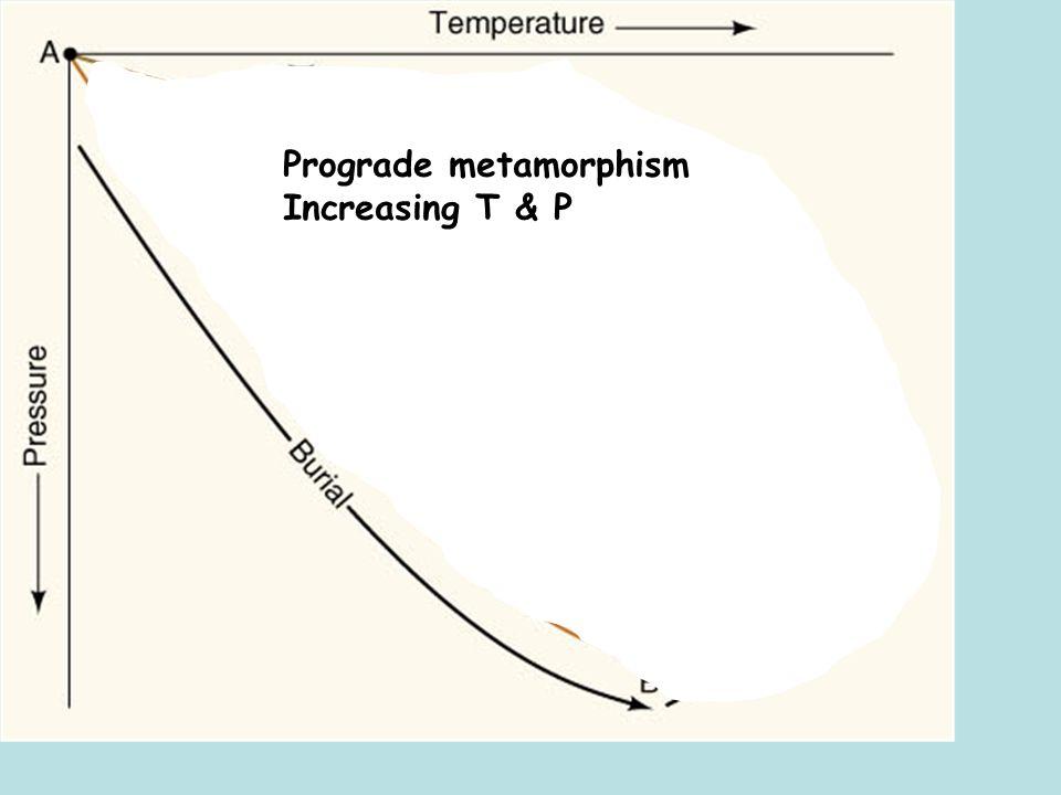 Prograde metamorphism