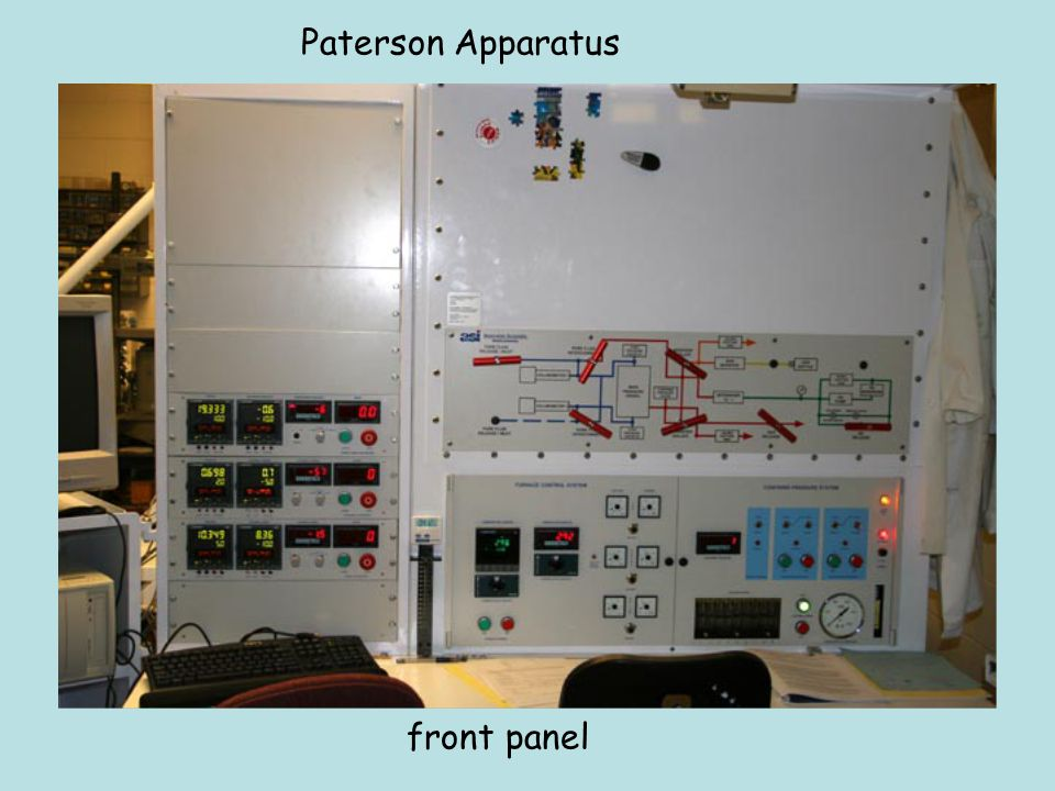 Paterson Apparatus front panel